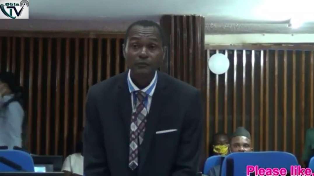 How Is Honourable Hindolo Gevao?